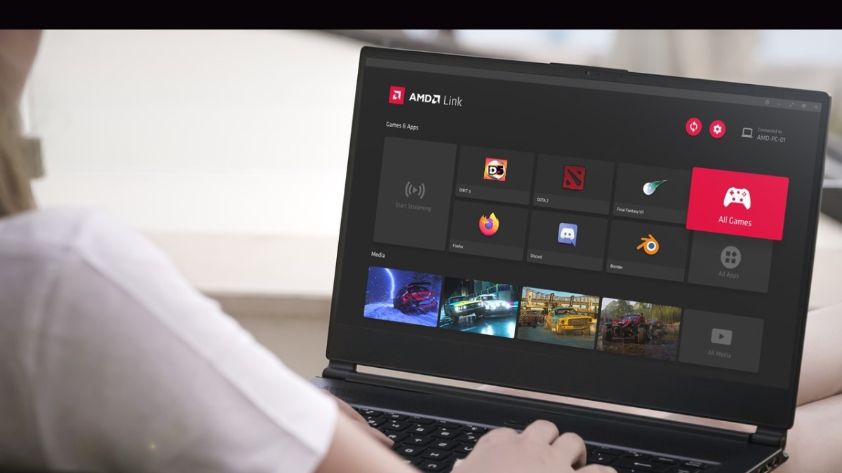 Radeon update adds AMD Link remote-gaming app to PC