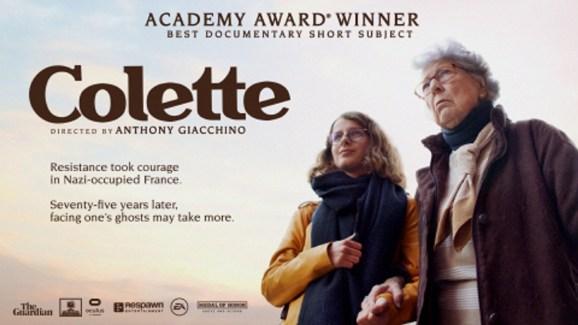 Colette won an Oscar for best documentary short subject film.