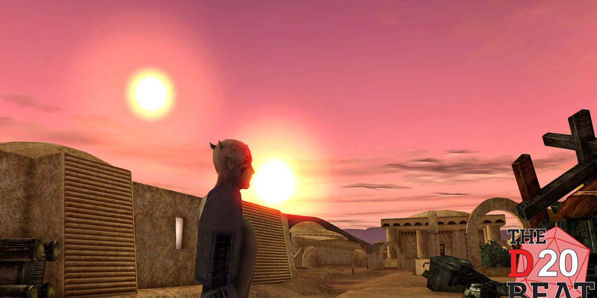 Restoration 3 is recreating Star Wars Galaxies, twin suns and all.