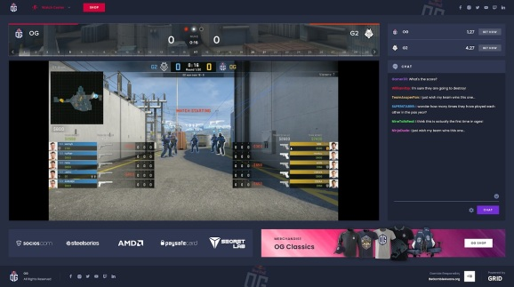 Grid Esports captures data for games like CS:GO.