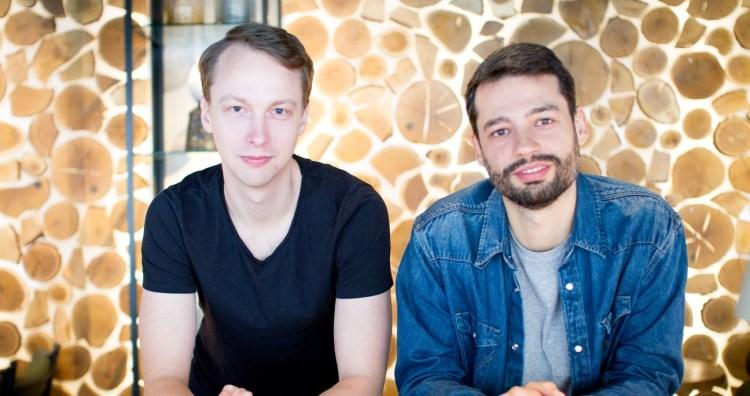 Nhost founders Johan Eliasson and Nuno Pato.
