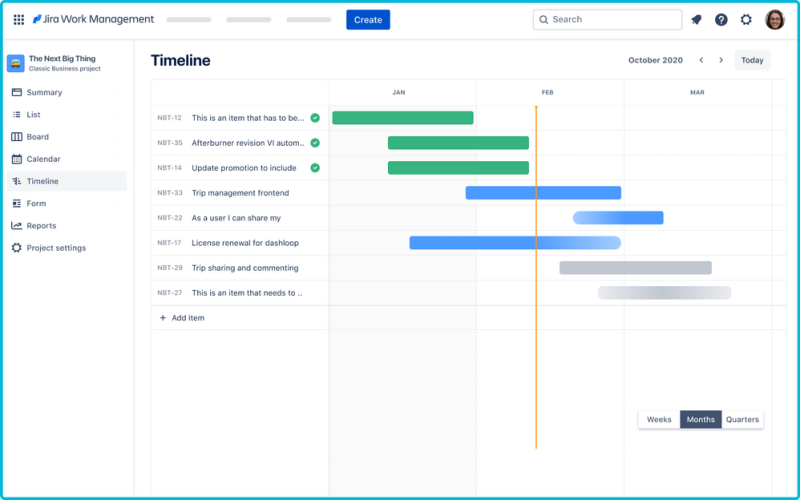 Jira Work Management
