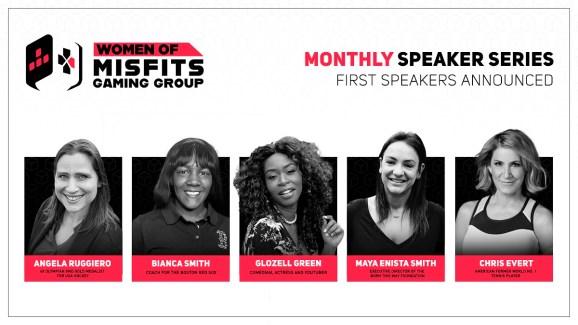 Women of Misfits speaker series.