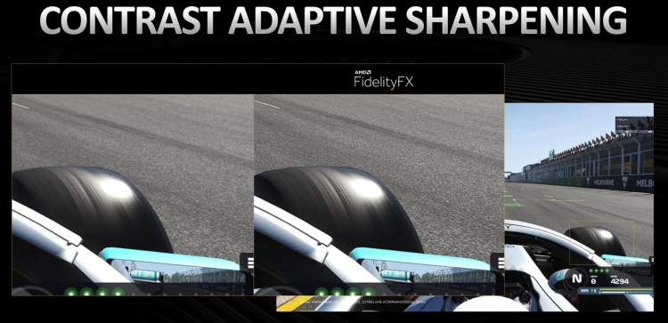 One of the features of FidelityFX on Xbox.