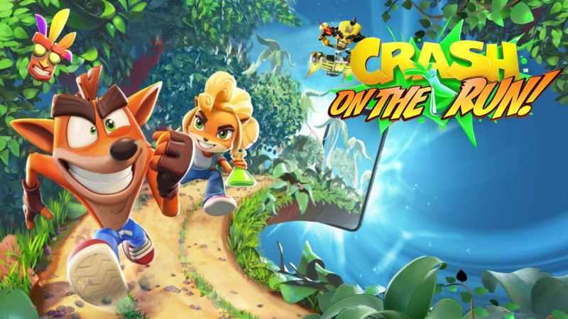 Crash Bandicoot: On the Run.
