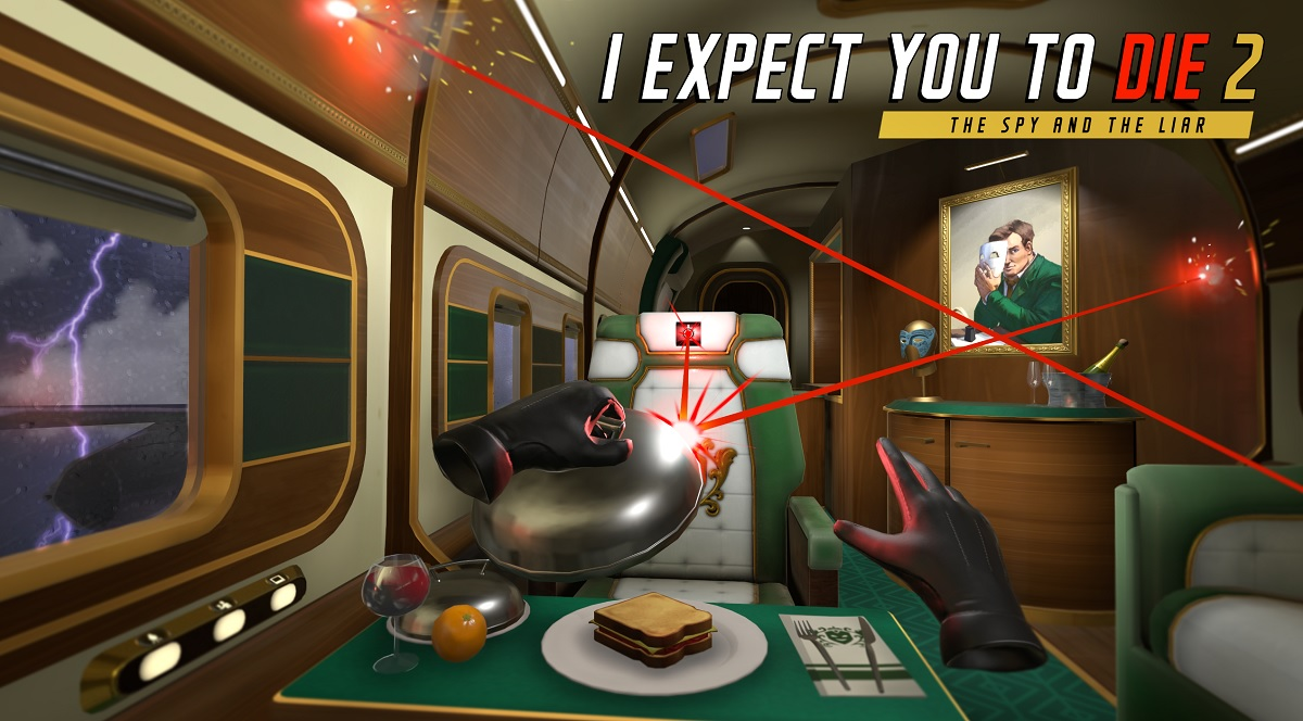 venturebeat.com - Dean Takahashi - I Expect You To Die 2: The Spy and the Liar debuts August 24 on VR platforms