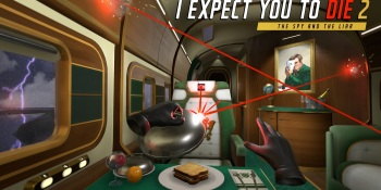 I Expect You To Die 2: The Spy and the Liar debuts August 24 on VR platforms