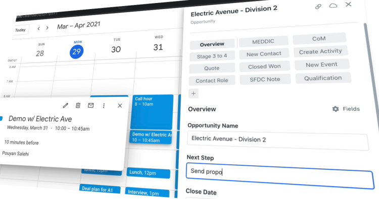 Scratchpad Command lets you update your Salesforce from anywhere on the web