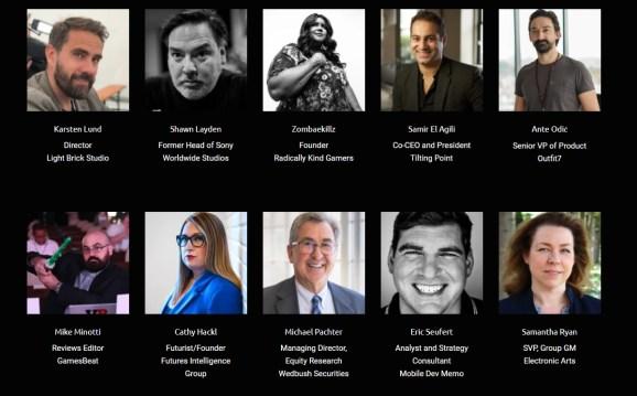Our latest GamesBeat Summit 2021 speakers.