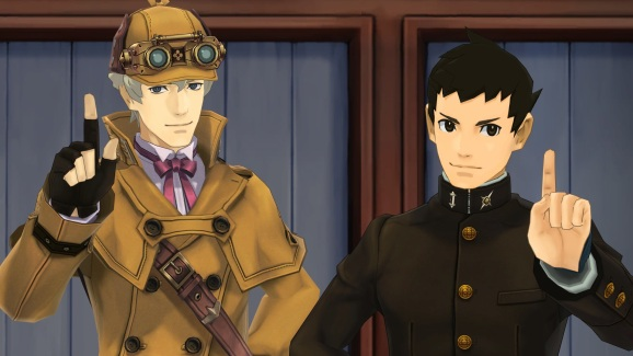 The Great Ace Attorney Chronicles.