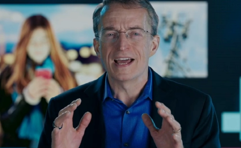 Intel CEO Pat Gelsinger touts the latest Intel Xeon Scalable processors.