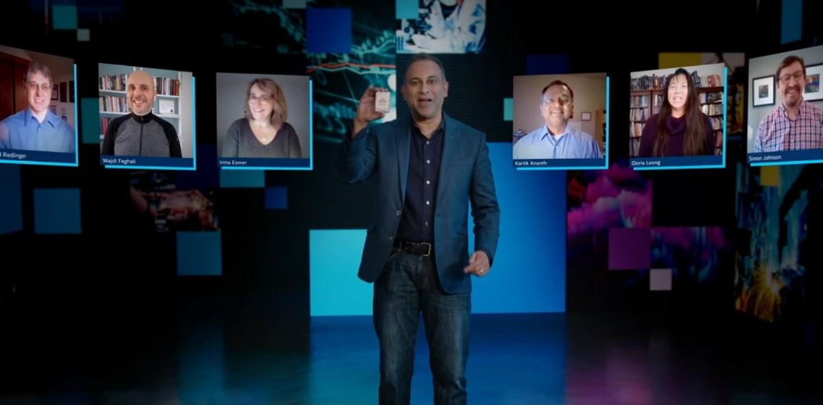 Intel executive vice president Navin Shenoy