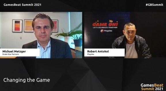 Robert Antokol, CEO of Playtika talks with Michael Metzger of Drake Star Partners.