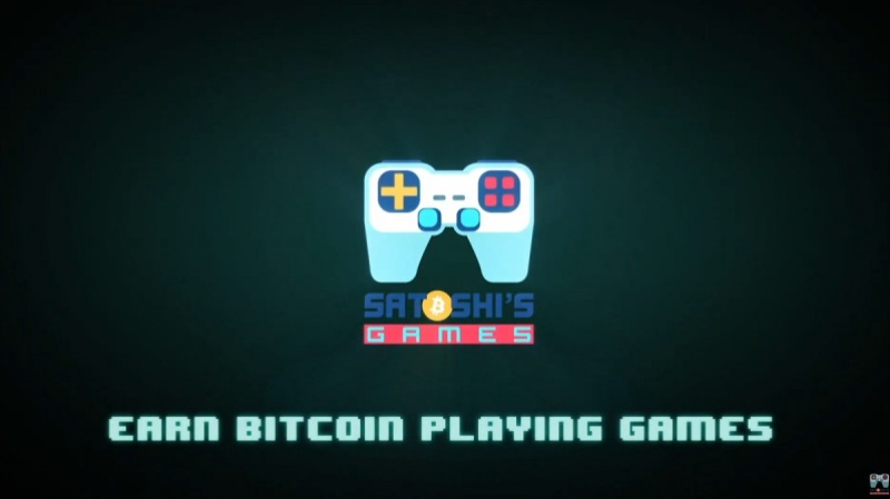 Satoshi's Games wants you to earn Bitcoin by playing games.