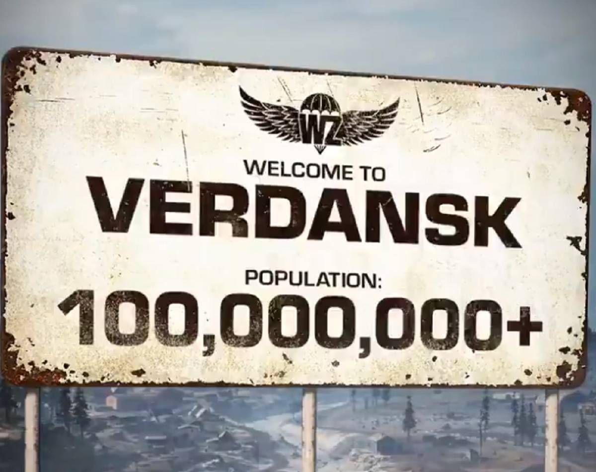 Call of Duty: Warzone hits 100 million downloads