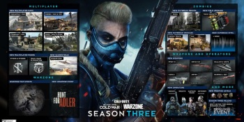 Call of Duty: Warzone and Black Ops: Cold War get Season 3 content on April 22