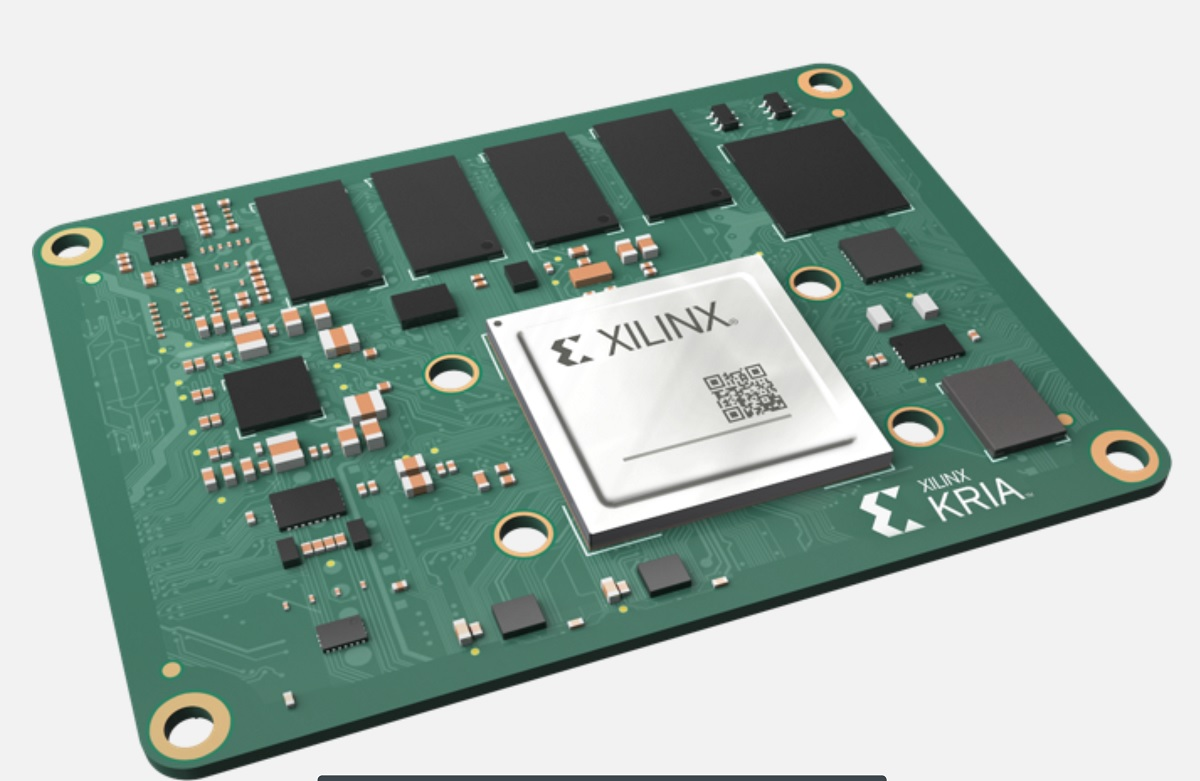 Xilinx launches Kria chips to handle AI for edge applications