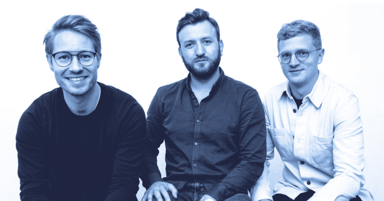 Contractbook founders:  CEO Niels Martin Brochner is on the left