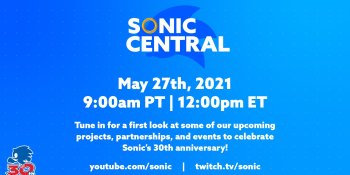 Sonic the Hedgehog news is coming May 27