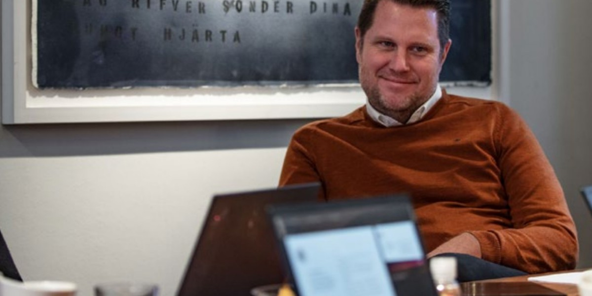 Embracer Group chief executive officer Lars Wingefors.