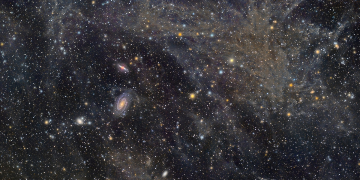 Galaxies and deep space dust