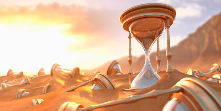 Time -- Hourglasses