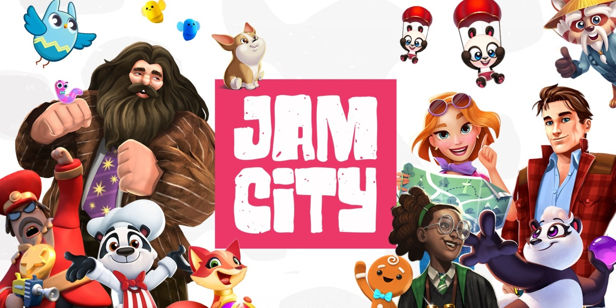 A mashup of Jam City's games.