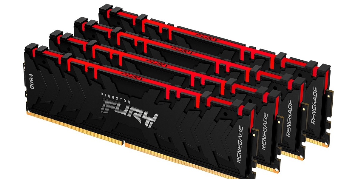 Kingston Fury is a new brand for gamer memory products.