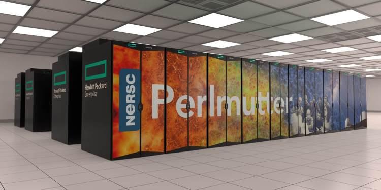 AI supercomputer Perlmutter