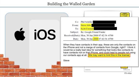 Epic Games' opening statement slides make its case against Apple.