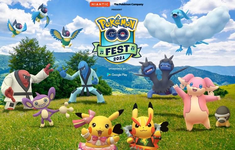 Pokemon Go Fest is coming back on July