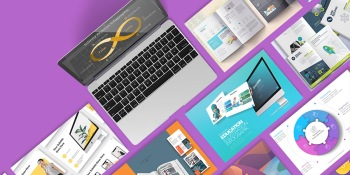 PoweredTemplate brings thousands of new assets to pump up your presentations and marketing