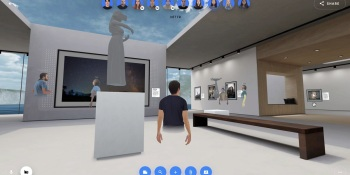 Spatial unveils web browser collaboration in 3D workspace and NFT virtual galleries