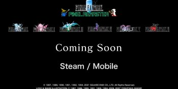 Final Fantasy: Pixel Remaster is coming to PC and mobile