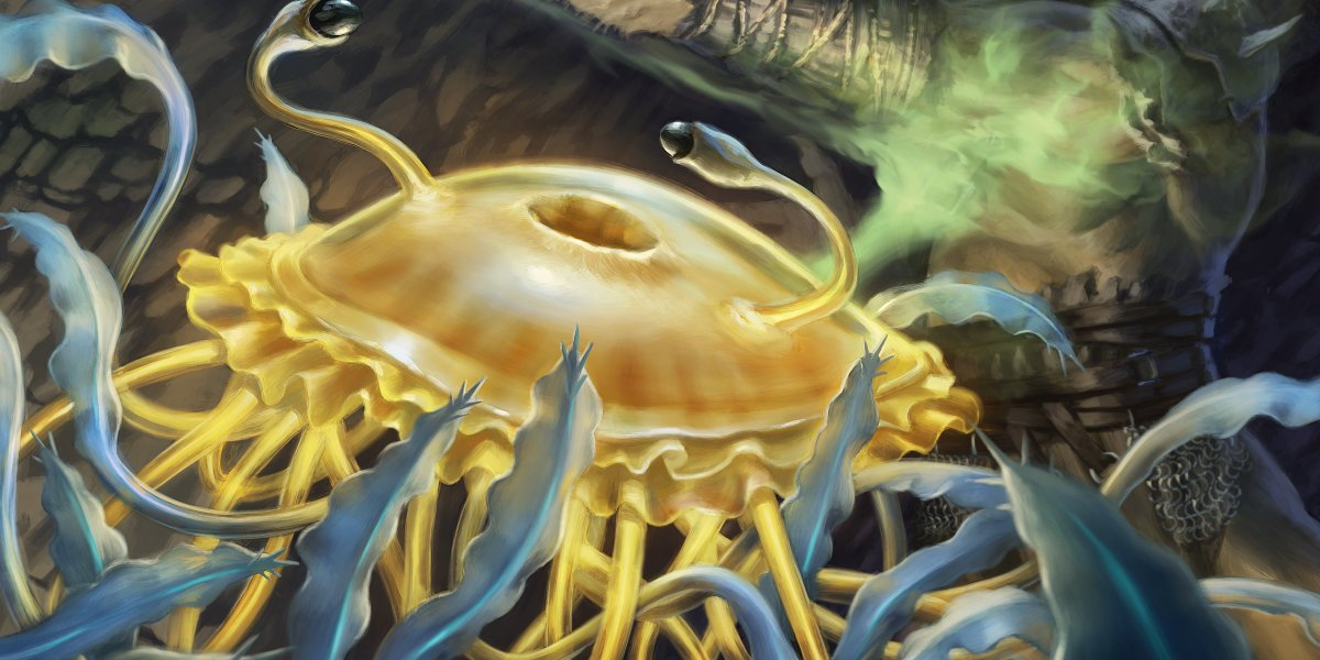 The Flumph is coming to Magic, and this little jellyfish-like creature may be your friend