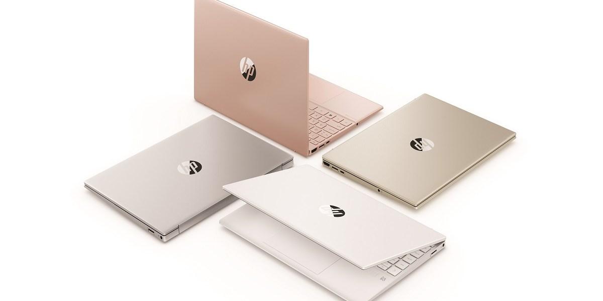 HP Pavilion Aero 13 laptops come in four colors.