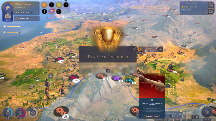 Era Stars don't just mark your civilization's achievements in Humankind -- they pave the way to victory.