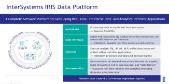 InterSystems adds data fabric capability to multi-modal platform