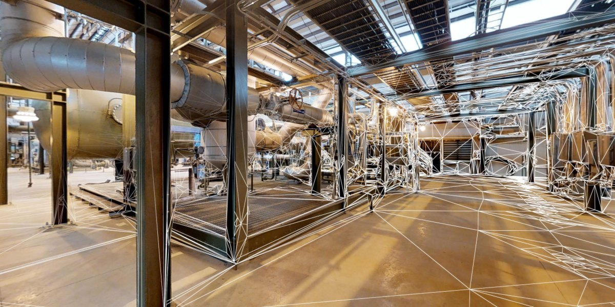 CRB Matterport production line reality capture