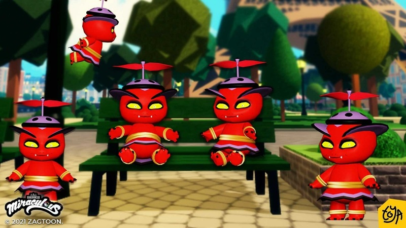 Toya's Miraculous Ladybug game