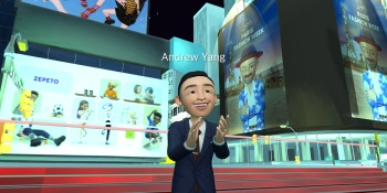 NY mayoral candidate Andrew Yang joins the metaverse with a Zepeto avatar