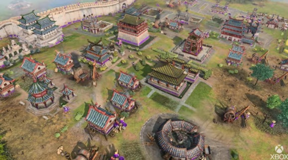 The Chinese faction in Age of Empires IV.