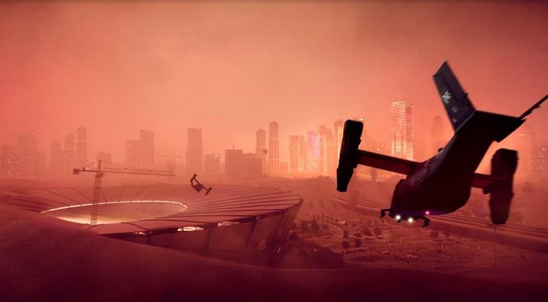 Una delle mappe di Battlefield 2042.