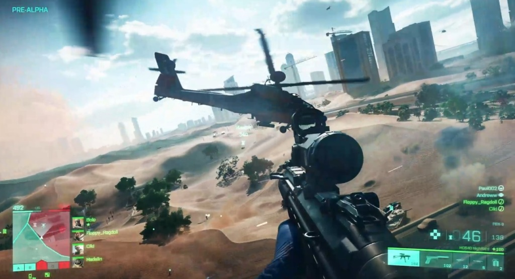 [new battlefield game]Battlefield 2042 gets a gameplay close-up at Xbox event