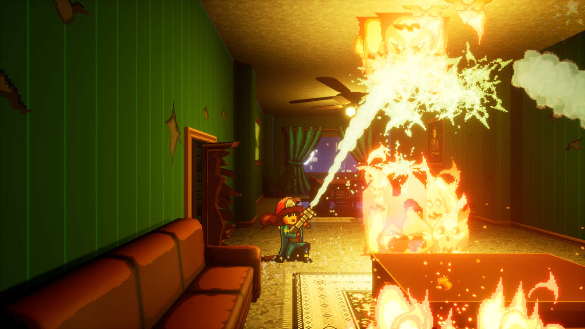 Firegirl is stylish firefighting adventure that launches in October
