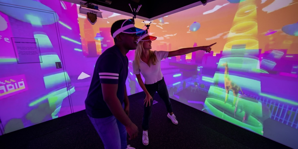 Electric Gamebox is building retail social gaming pods.