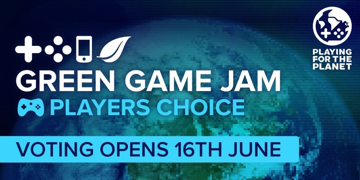 Green Game Jam 2021 will have 25 game studios participating in green gaming themes.