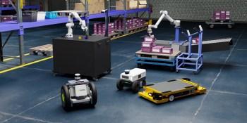 Nvidia's Isaac robot simulations debut on Omniverse