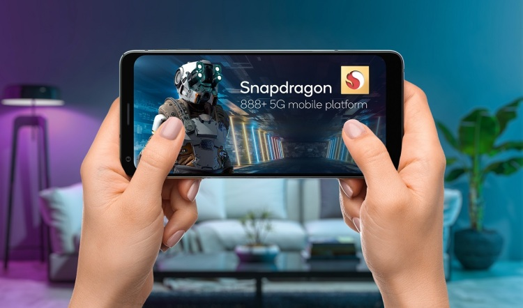 Qualcomm's Snapdragon 888 Plus platform will be good for gaming.