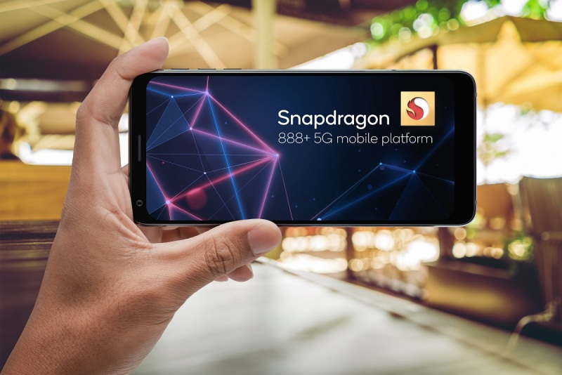 Snapdragon 888 Plus 5G Mobile platform has beefed up AI capabilities.